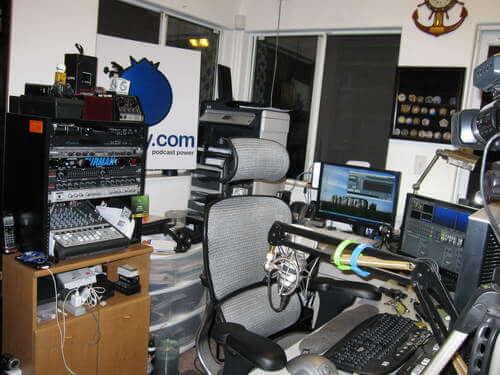 Geek News Central Podcast Studio 2