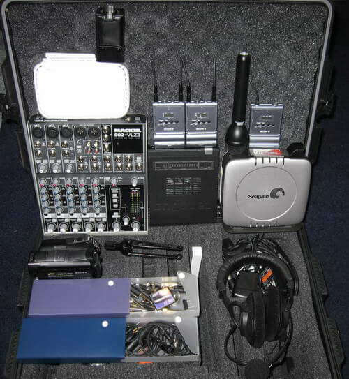 Portable Podcast Rig