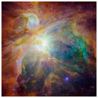 Orion Nebula Hubble Small