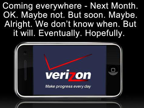 Verizon iPhone Mock