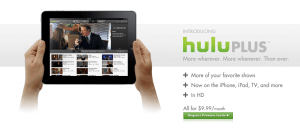hulu plus screen