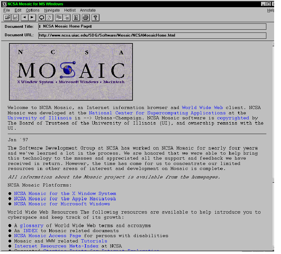 mosaic screenshot