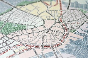 Boston Typography Map