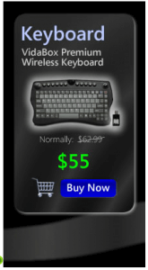vidabox keyboard black friday deal