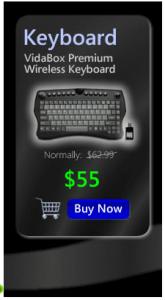 vidabox keyboard black friday deal