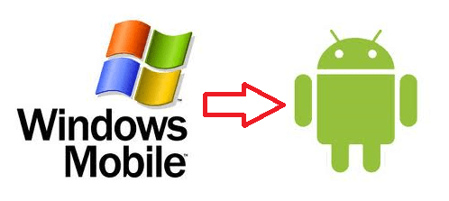 windows mobile to android