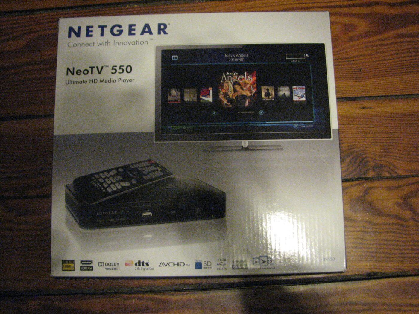 Netgear NeoTV 550 Unboxing - Geek News Central