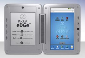 entourage edge a dual screen tablet and ereader   geek