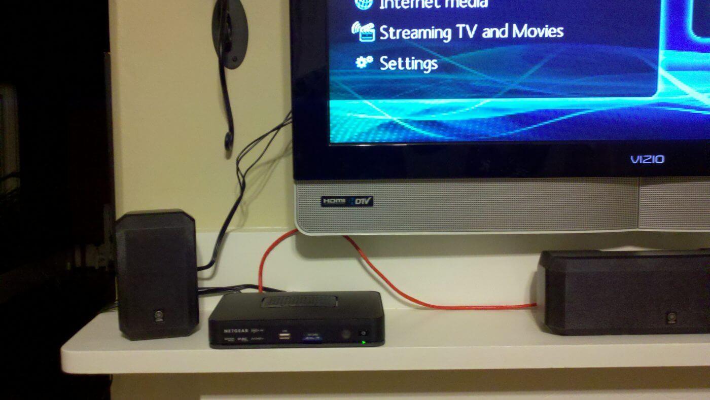Netgear NeoTV 550 Setup