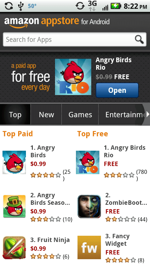 android amazon app store