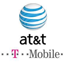 at&t t-mobile logo