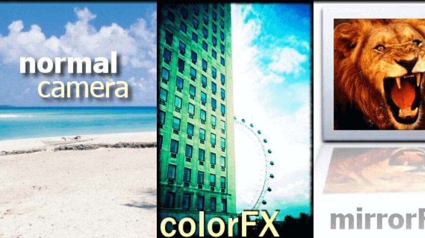 Camera Zoom FX Modes