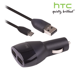 htc dual car charger