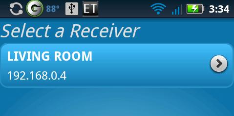 DirecTV Remote Pro Select Receiver