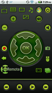 myremote main screen