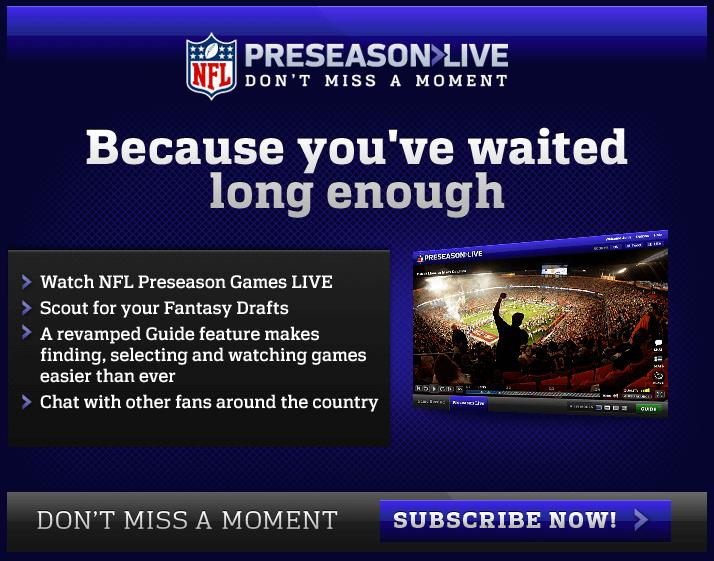 nfl preseason live ad