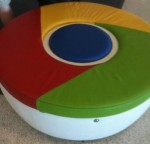 Google Chair at SF Airport