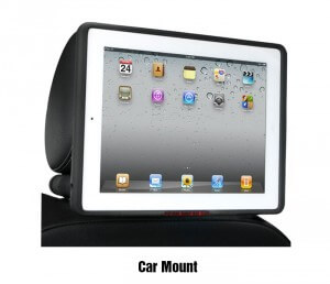 inCarBite iPad car mount