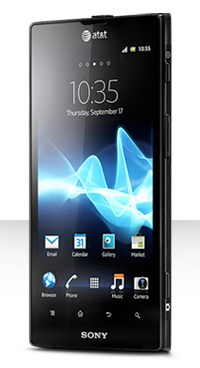Sony Xperia ion smartphone