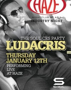 CES Ludacris Soul Party