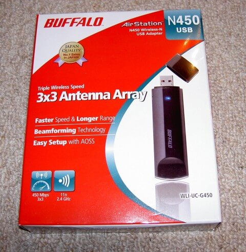 Buffalo N450 USB adaptor
