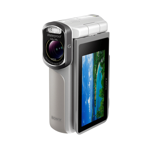 sony waterproof video camera sony releases waterproof handycam 276