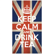 Keep Calm and Drink Tea Stickem