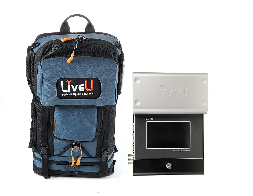 New LU70 mobile broadcasting unit - image courtesy LiveU