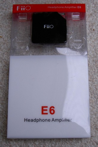 FiiO E6 in Retail Packaging