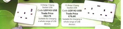 Power Sockets with USB