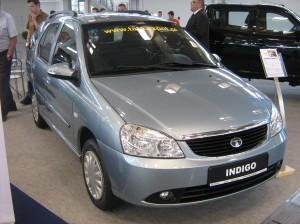 Tata Indigo SW Front