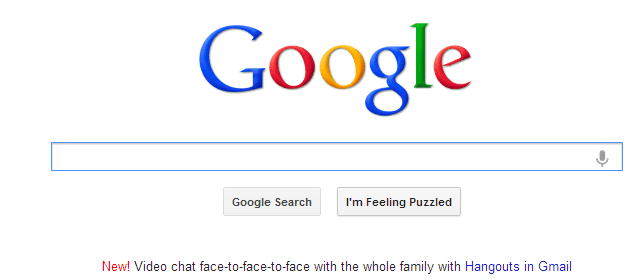 google im feeling lucky easter egg