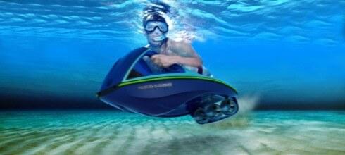 Design Icon Bodyboard Concept Snorkeller