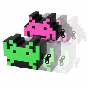 Wind up Space Invaders