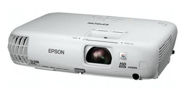 epson PowerLite Home Cinema 750HD projector