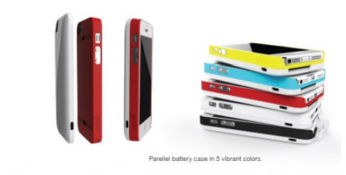Gosh! Parallel iPhone 5 case and battery