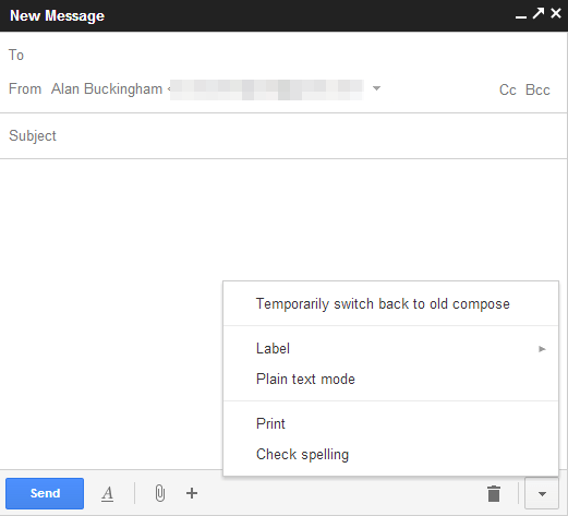 gmail compose switch