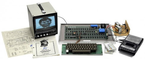 Rare Apple I computer up for Auction