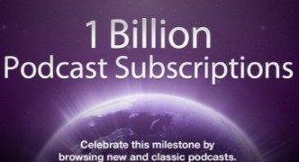 One Billion Podcast Subscriptions