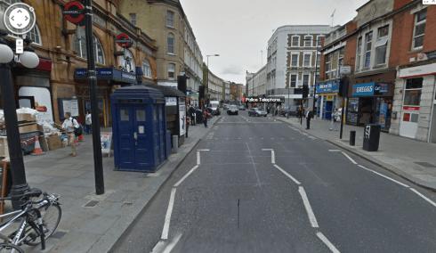 Earls street in london