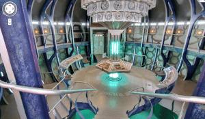 Google Maps of the TARDIS