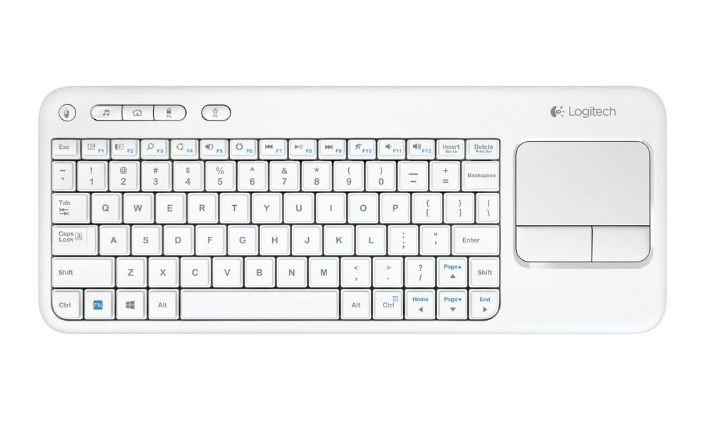 logitech k400 white