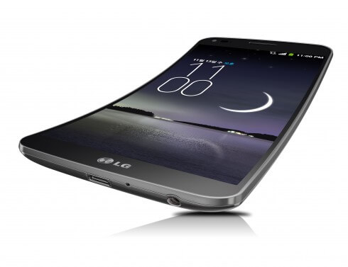 LG G Flex Front