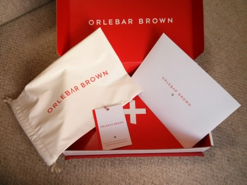 Orlebar Brown Inside Box