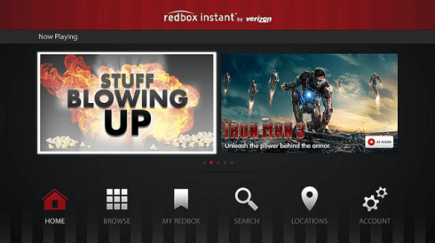redbox instant playlists