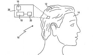 One of the smart wig patent drawings