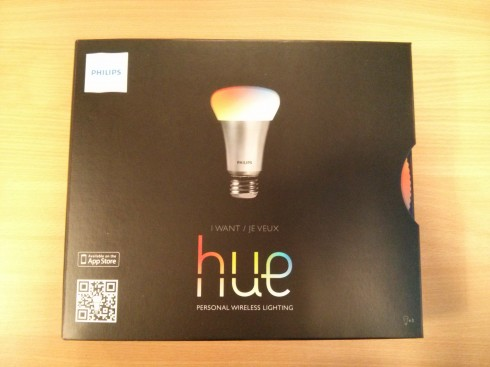 Philips Hue Box Exterior