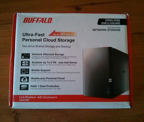 Buffalo LS-420 Box
