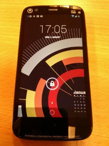 Moto G Lockscreen