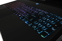 MSI SteelSeries keyboard